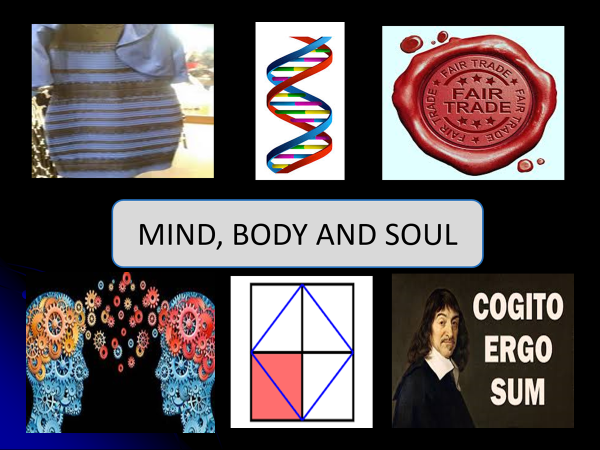 essay on mind body and soul Body, soul and spirit – explained our spirit is what goes to heaven when jesus christ returns, not body or soul 5) conclusion to conclude, we have seen that.