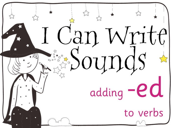 Magic Sounds Phonics Set 32 adding -ed to verbs