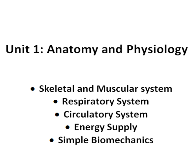 Complete GCSE PE Anatomy and Physiology Student Workbook