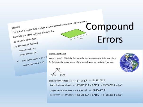 Compound Errors