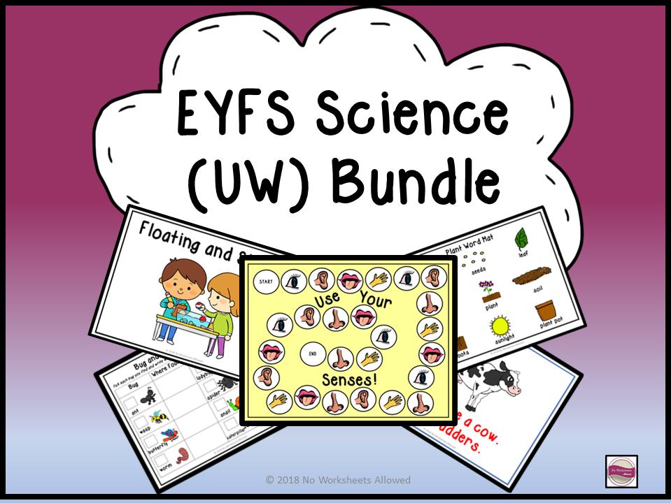 EYFS Understanding the World - Science Activities Bundle