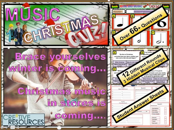 Christmas Music Quiz 2019