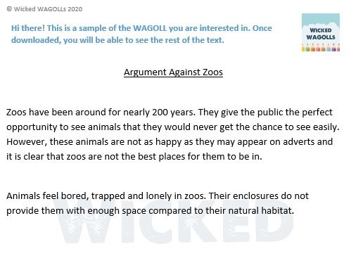 Arguments For and Against Zoos