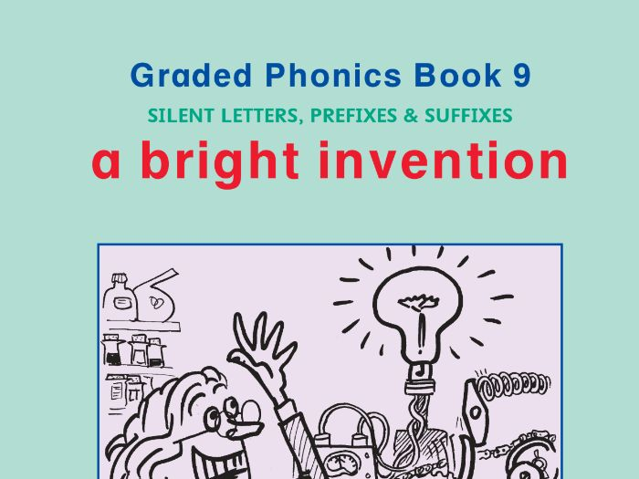 PHONICS BOOK 9 BRIGHT INVENTION