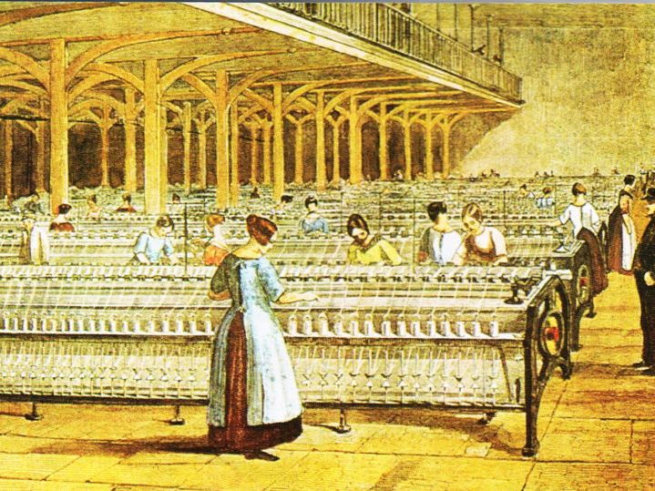 Worksheet: The Textile Industry 1750 - 1900