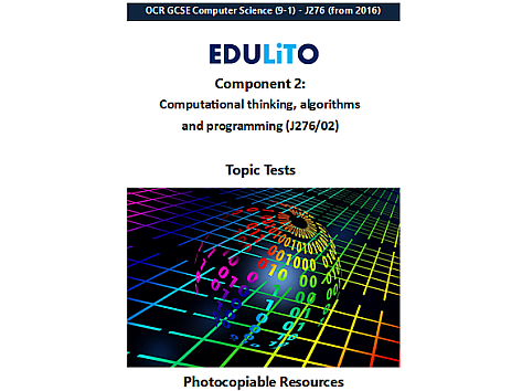 GCSE Computer Science - End of Topic Tests - Component 2 (OCR)