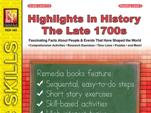 Highlights in History: The Late 1700s