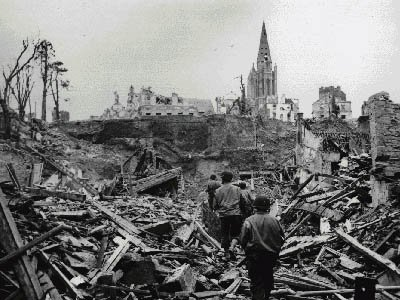 The Impact of World War Two on Nazi Germany