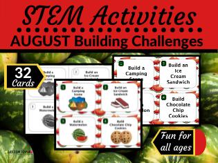STEM Activities: August Building Challenges