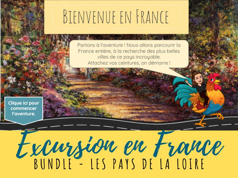 French Virtual Field Trip - Pays de la Loire region