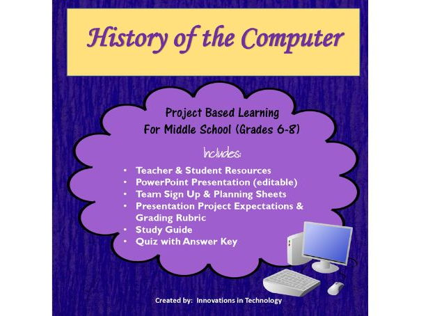 Computer History - Group Research & Presentation Project