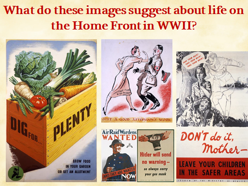 What was the impact of WWII on the Home Front?