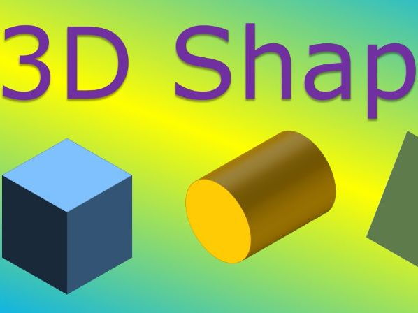 Properties of 3D Shapes Presentation and worksheets. YouTube preview