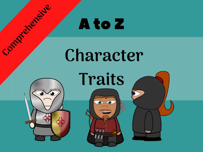 List of Character Traits | Free