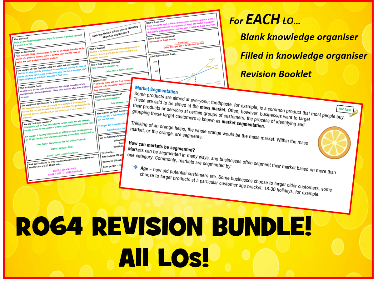 R064 ULTIMATE REVISION BUNDLE! All LOs!!