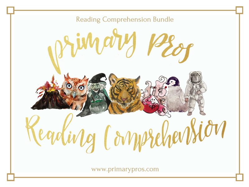 Year 3 & 4 Reading Comprehension Bundle
