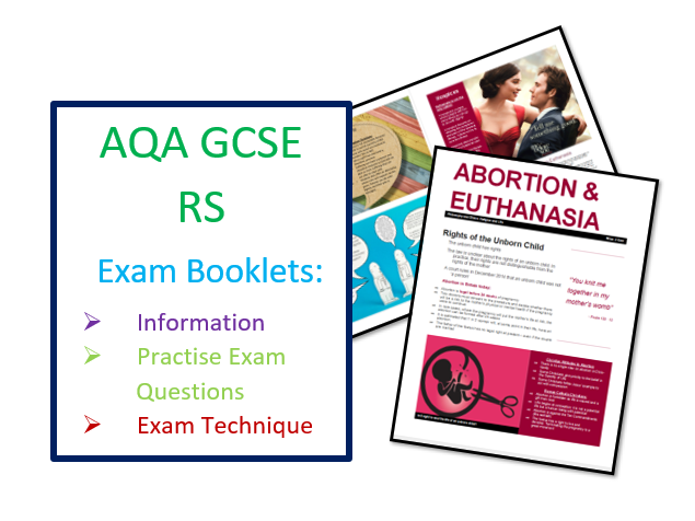 AQA RS Abortion and Euthanasia Exam Booklet for Revision