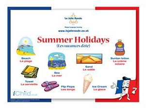 GCSE -French- Holidays and tourism