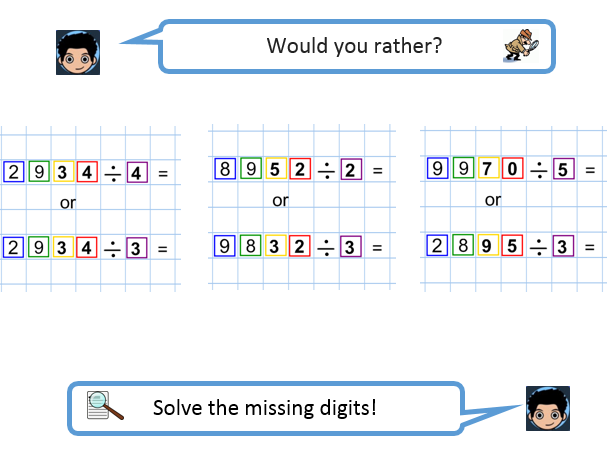 Division Mastery, differentiated worksheets , Year 3 and 4 Bus stop method