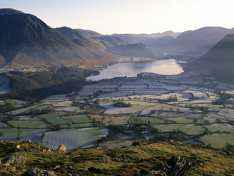 AQA GCSE Geography Glacial Landscape in UK -Lake District, Erosional and Depositional Features