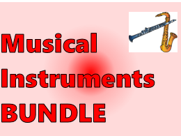 Musikinstrumente (Musical Instruments in German) Bundle