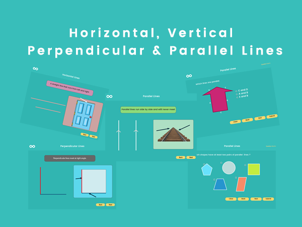 Horizontal, Vertical,  Perpendicular & Parallel Lines- Year 3, Key stage 2 (US 2nd grade)