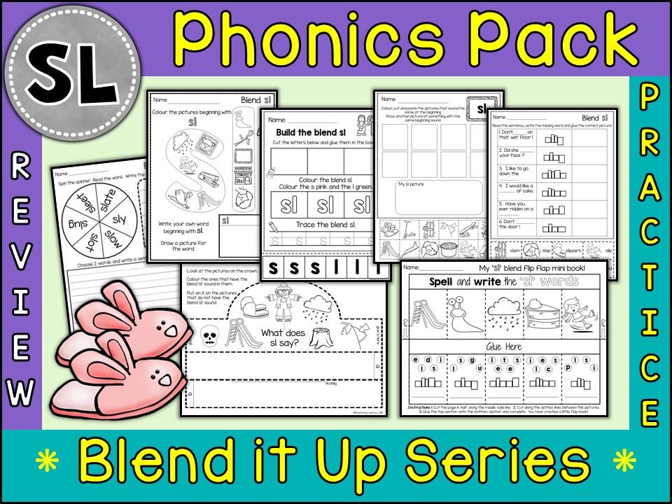Phonics: Phonics Blend SL