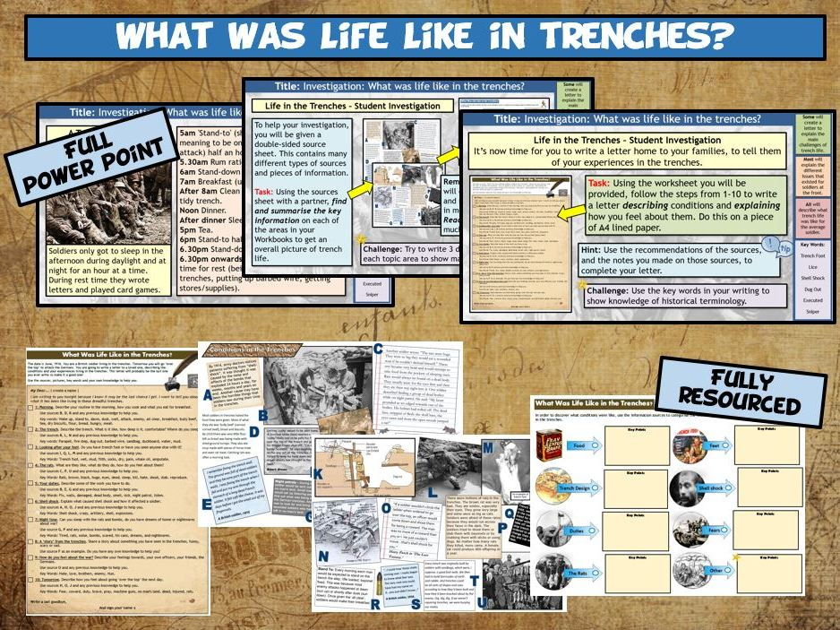 WW1 L7 - What Was Life Like in the Trenches?