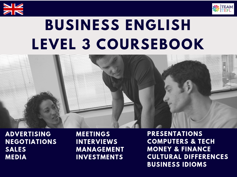 Business English Level 3 Coursebook For ESL