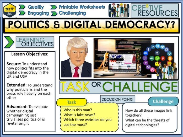 Politics + Digital Democracy