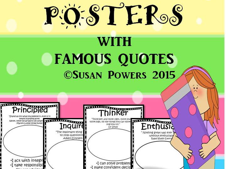 Getting to Know the IB PYP Create Your Own Classroom Posters