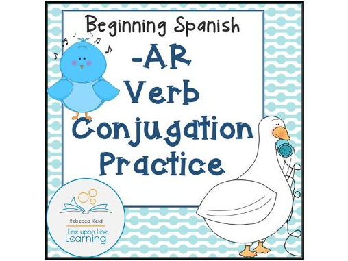 Spanish -AR Verb Conjugation Practice