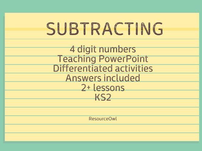 Subtracting