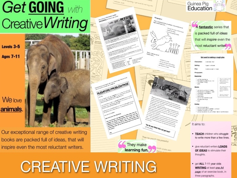 We Love Animals: Get Going With Creative Writing (and other forms of writing) (ages 7-11 years)