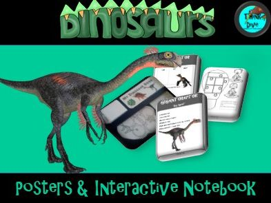 Dinosaurs - Posters & Interactive Notebook