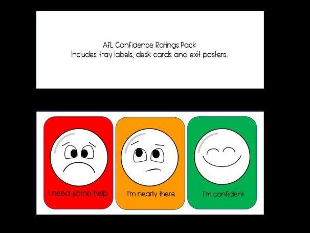 AfL Confidence Rating