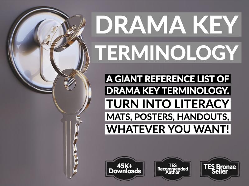 Big Generic Drama Keyword List
