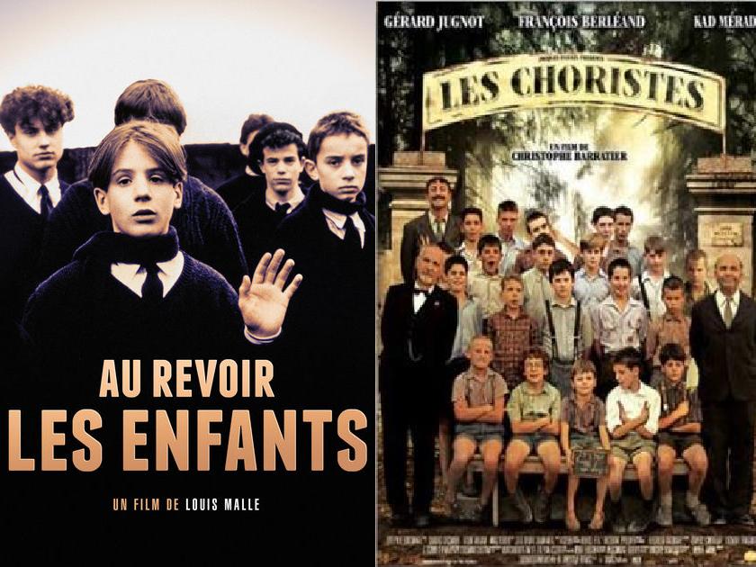 French cinema: Les Choristes + Au Revoir les Enfants