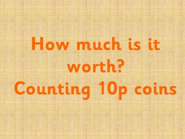Money - How many 10ps?