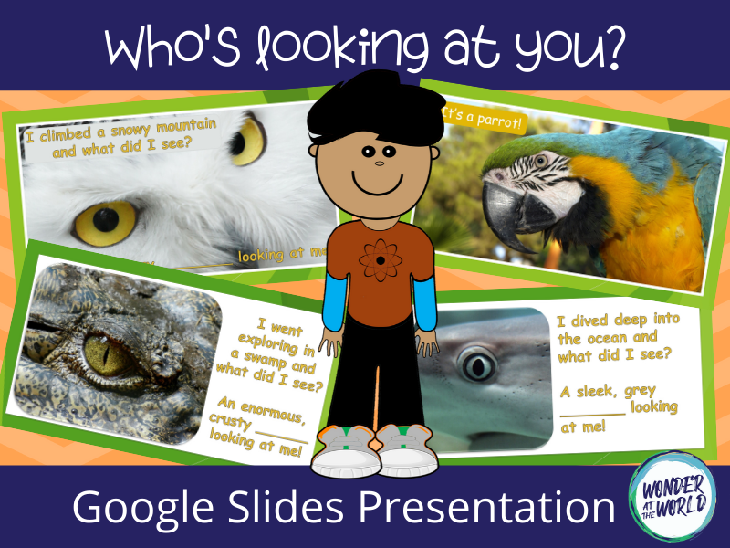 Who's looking at you? Google Slides presentation