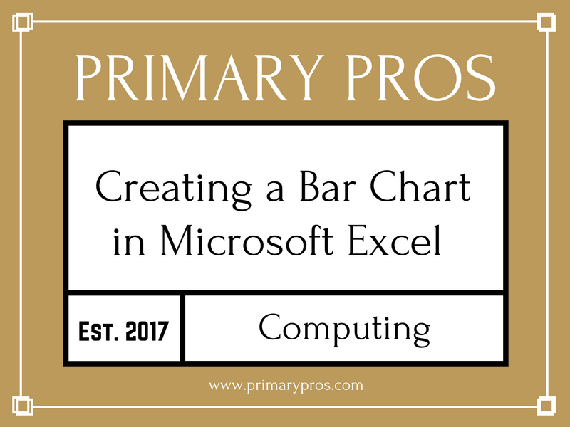 Creating a Bar Chart in Excel