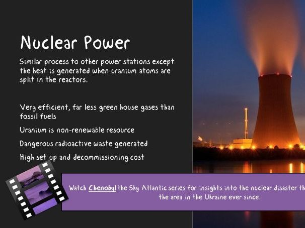 Product Design GCSE - 04 Energy Generation & Storage