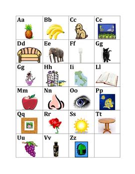 Alfabeto (Alphabet in Italian) Poster