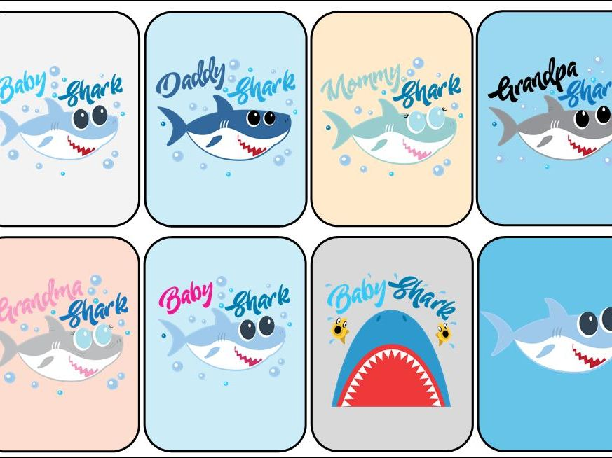 Baby Shark Card Game