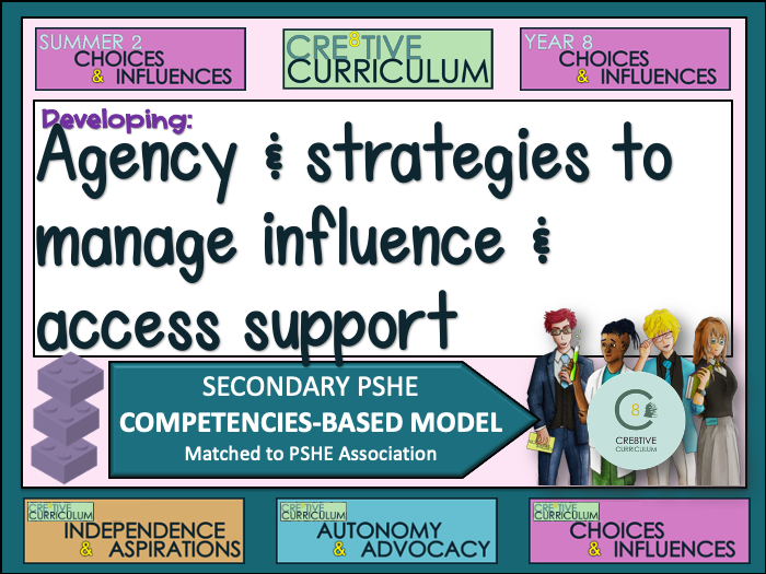 Choices and Influences - PSHE Builder