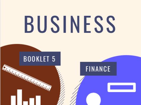 OCR GCSE Business Unit 5: Finance