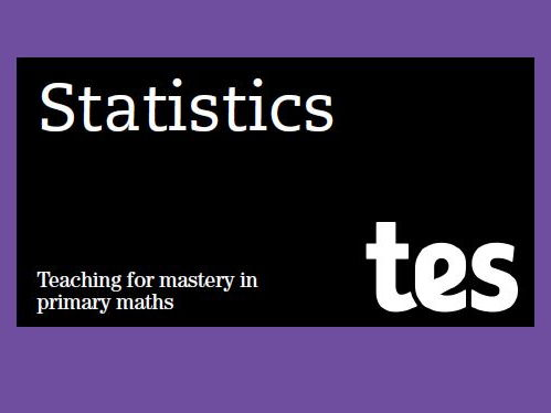 Statistics: Teaching for mastery booklet