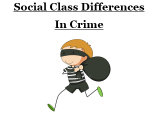 Social Class Differences in Crime [3 Lessons - AQA A-Level Sociology]