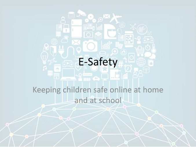 E-Safety Presentation (Primary Parents)