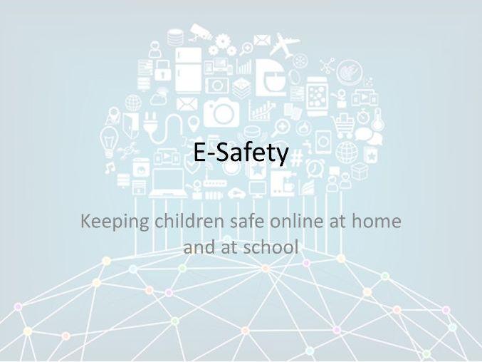 E-Safety Presentation (Primary Parents)